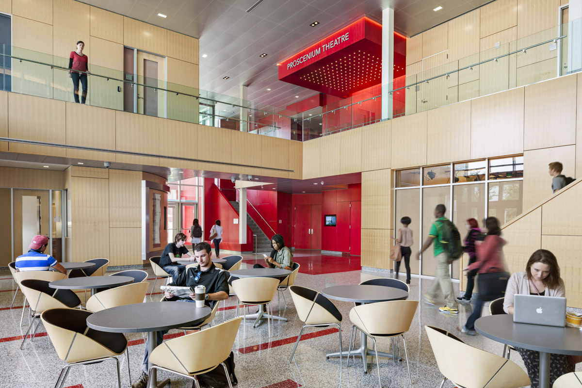 Performing Arts And Humanities Building University Of Maryland